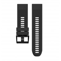 Soft Silicone Replacement Watch Band Strap for Garmin Fenix 5X Black