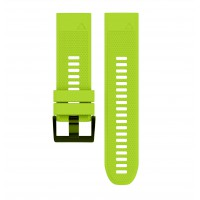 Soft Silicone Replacement Watch Band Strap for Garmin Fenix 5X Green