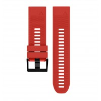 Soft Silicone Replacement Watch Band Strap for Garmin Fenix 5X Red