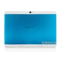 10 inch Tablet IPS Screen GPS Bluetooth Quad Core Dual Card 3G Call Metal Shell sky blue