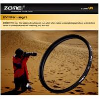 ZOMEI Ultra-Violet UV Filter Lens Protector for SLR DSLR Camera 86mm