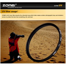 ZOMEI Ultra-Violet UV Filter Lens Protector for SLR DSLR Camera 86mm