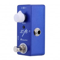 Mosky XP Bosster Guitar Effect Pedal Mini Single Mini Pedal Clean Booster with True Bypass Switching  blue