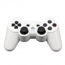 Wireless Bluetooth Gamepad Game Controller for Sony PS3 White