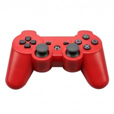 Wireless Bluetooth Gamepad Game Controller for Sony PS3 Red