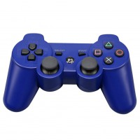 Wireless Bluetooth Gamepad Game Controller for Sony PS3 Blue