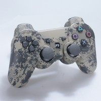 Wireless Bluetooth Gamepad Game Controller for Sony PS3 Camouflage