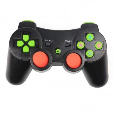 Wireless Bluetooth Game Controller with Six Axis and Vibration for Sony PS3 black