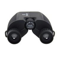 12X25 Mini Foldable Binoculars BAK4 Waterproof Telescope Lightweight Hiking Camping black