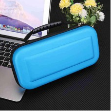 Portable Hard Protective Handle Carry Case Cover Zipper Protective Shell blue