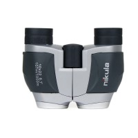 10X22 Zoom Mini Folding HD Binoculars Waterproof Telescope Low Light Outdoor Camping Hunting gray