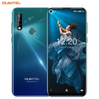 OUKITEL C17 Pro 6.35`` Android 9.0 19:9 MT6763 4GB 64GB Smartphone Face ID Octa Core 3900mAh Triple Camera 4G Mobile Phone Gradient
