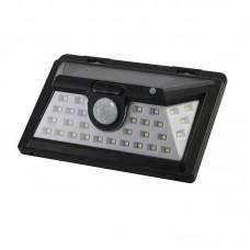 LED Waterproof Solar-Powered Yard Lamp PIR Motion Sensor Wall Light Garden Lamp 34LED